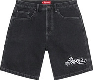 Handstyle Denim Painter Short
