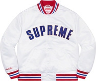 Mitchell & Ness® Satin Varsity Jacket